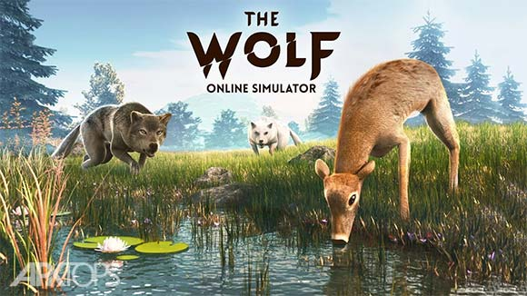 The Wolf دانلود بازی شبیه سازی زندگی گرگ برای اندروید