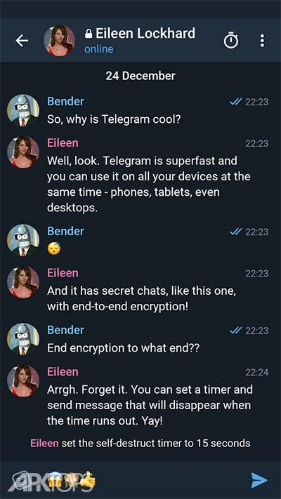 Telegram X v0.21.9.1171 دانلود تلگرام ایکس تلگرام سریع