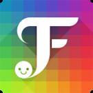 FancyKey Keyboard Cool Fonts v4.5 برنامه صفحه کلید گرافیکی اندروید