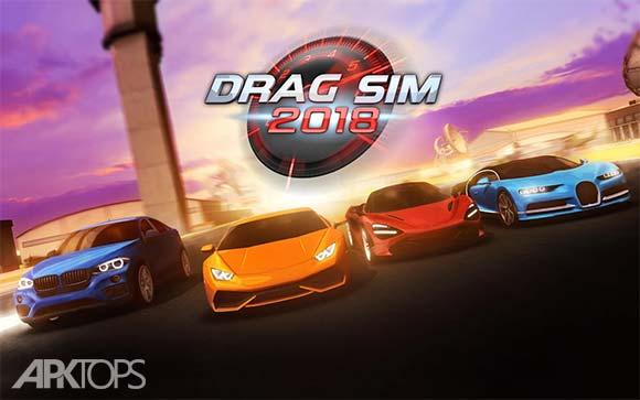 Drag Sim 2018 دانلود بازی مسابقه ای درگ سیم برای اندروید