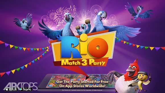 Rio Match 3 Party دانلود بازی ریو مهمانی مسابقه 3 برای اندروید