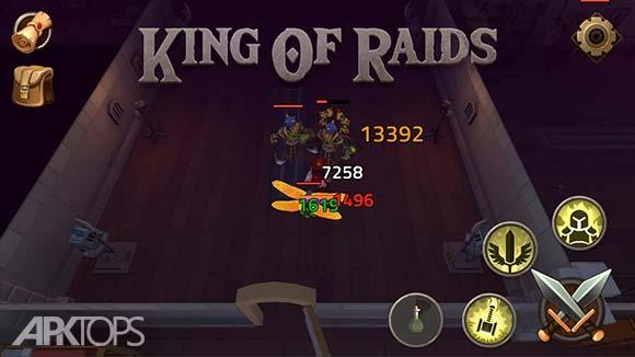 King of Raids Magic Dungeons دانلود بازی امپراطوری یورش ها برای اندروید