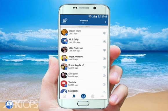 Blue Mail Email & Calendar App دانلود برنامه مدیریت ایمیل اندروید