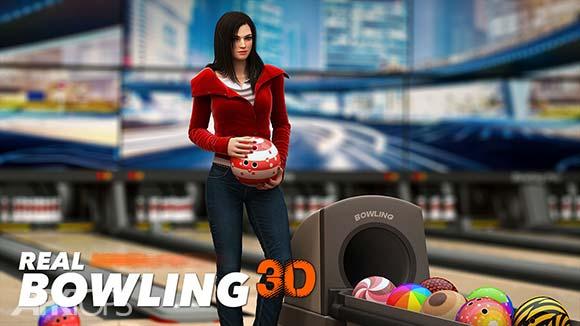 Real Bowling 3D دانلود بازی بولینگ برای اندروید