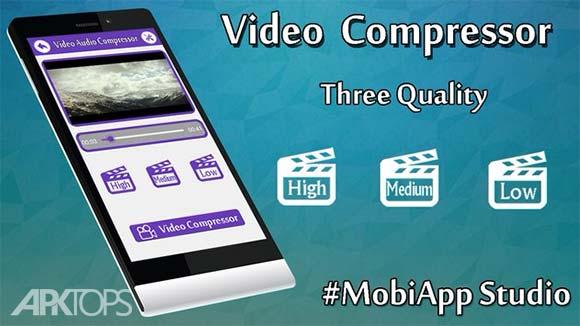 Video Compressor دانلود برنامه کاهش حجم ویدئو ها اندروید