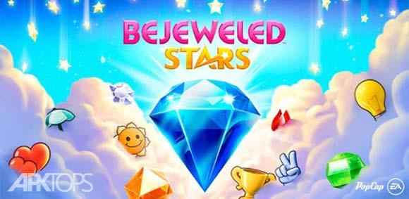 Bejeweled Stars Free Match 3 دانلود بازی ستاره های جواهر نشان برای اندروید