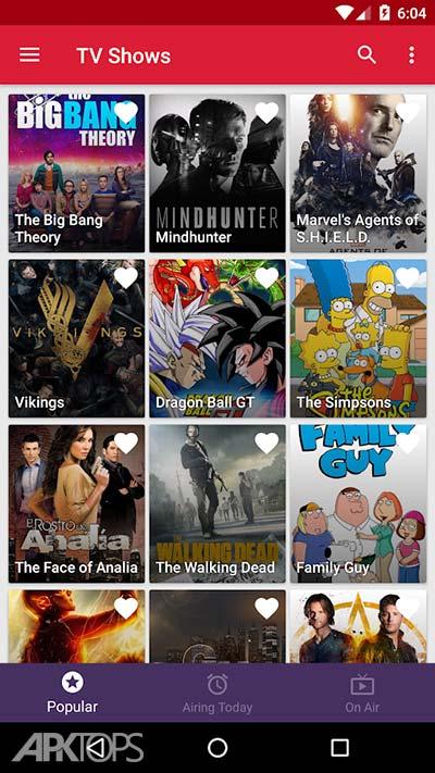 Appflix Premium Mod v1.9.2 دانلود برنامه ی نمایش اطلاعات فیلم ها و سریال ها
