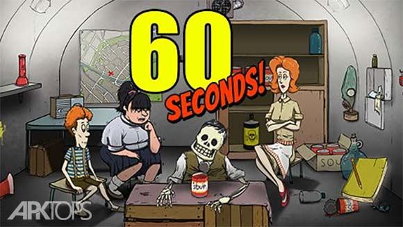 60 Seconds Atomic Adventure دانلود بازی شصت ثانیه برای اندروید