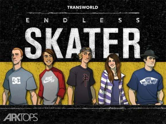Endless Skater دانلود بازی اسکیت باز بی نهایت