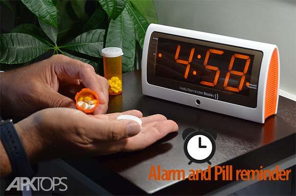 Alarm and pill reminder دانلود برنامه زنگ هشدار و یادآور قرص اندروید