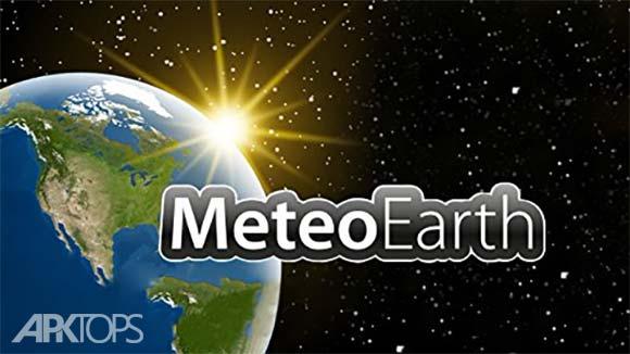 MeteoEarth دانلود برنامه پیش بینی آب و هوا با نمایش کره زمین اندروید