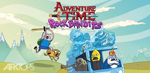 Rock Bandits Adventure Time دانلود بازی باند های راک
