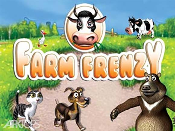 Farm Frenzy Free Time management game دانلود بازی مزرعه داری برای اندروید