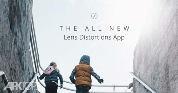 Lens Distortions برنامه گذاشتن افکت روی تصاویر اندروید