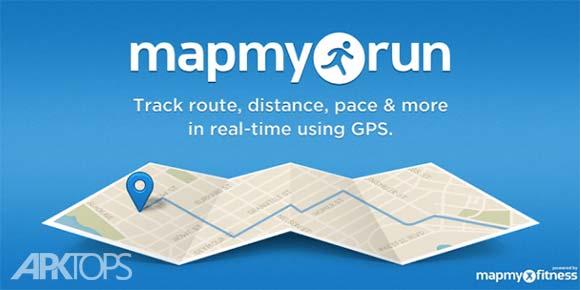 Run with Map My Run Plus دانلود برنامه ثبت مسیر دویدن اندروید
