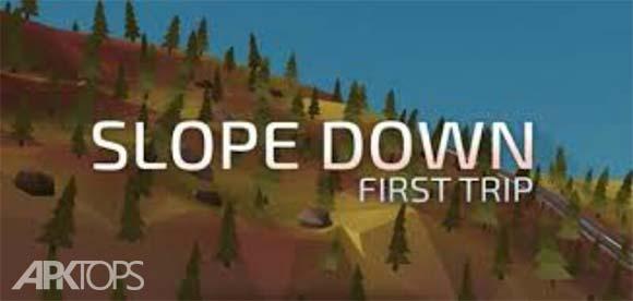 Slope Down First Trip دانلود بازی سرازیری برای اندروید