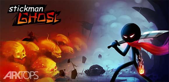 Stickman Ghost Ninja Warrior دانلود بازی استیکمن نینجای دلاور برای اندروید