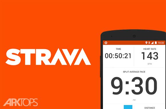Strava Running and Cycling GPS دانلود برنامه ثبت مسیر ورزش اندروید