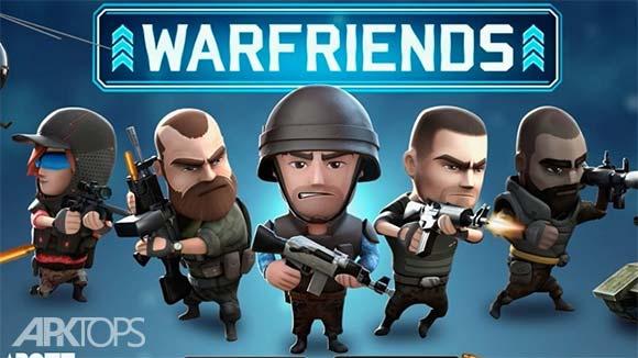 WarFriends دانلود بازی جنگ دوستان برای اندروید