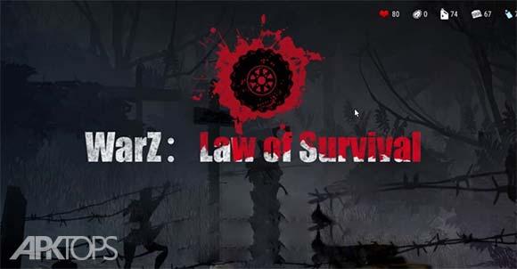 WarZ Law of Survival دانلود بازی قانون زنده ماندن برای اندروید