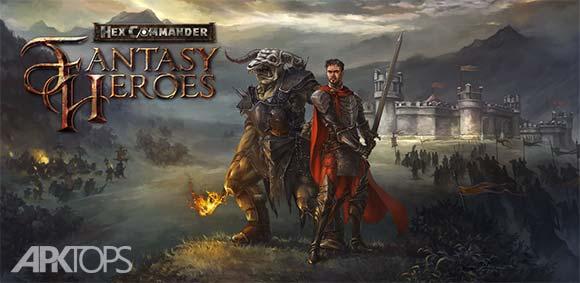 Hex Commander: Fantasy Heroes v3.5 دانلود بازی فرمانده هکس