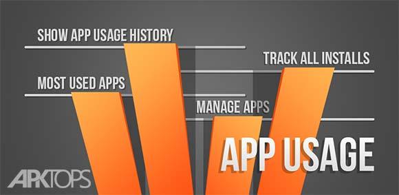 App Usage – Manage/Track Usage v4.47 دانلود نرم افزار مدیریت برنامه ها