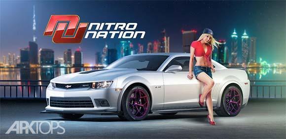 Nitro Nation Drag Racing v5.8.1 بازی مسابقات درگ اندروید