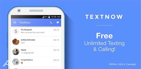TextNow Premium v5.46.0 دانلود برنامه تماس و پیامک رایگان