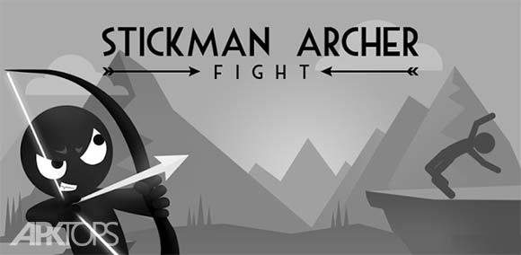 Stickman Archer Fight دانلود بازی جنگ تیراندازی استیکمن ها برای اندروید
