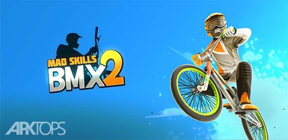 Mad Skills BMX 2 v1.0.5 دانلود بازی مهارت های دیوانه وار دوچرخه سواری