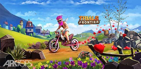 Trials Frontier v5.8.3 دانلود بازی موتور تریل مرزی