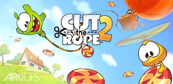 Cut the Rope 2 v1.11.1 دانلود بازی طناب را ببر 2