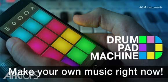 Drum Pad Machine Make Beats دانلود برنامه ساخت بیتس آهنگ اندروید