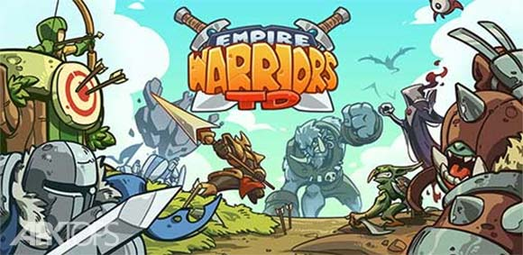 Empire Warriors TD Defense Battle Tower Defense دانلود بازی جنگجویان امپراطوری