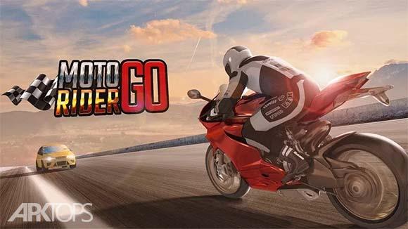 Moto Rider GO Highway Traffic دانلود بازی هیجان انگیز موتورسواری در ترافیک بزرگراه