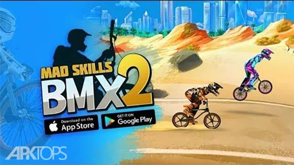 Mad Skills BMX 2 دانلود بازی مهارت های دیوانه وار دوچرخه سواری برای اندروید