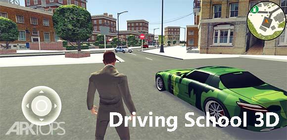 Driving School 3D دانلود بازی جذاب مدرسه ی رانندگی