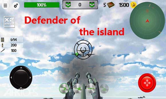 Defender of the island دانلود بازی محافظ جزیره برای اندروید