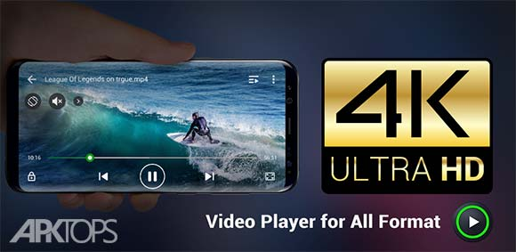 Video Player All Format دانلود برنامه پخش کننده ی تمام فرمت های تصویری