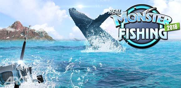 Monster Fishing 2018 دانلود بازی جذاب ماهیگیری هیولا