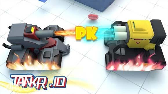 Tankr.io دانلود بازی مبارزه ی تانک ها برای اندروید