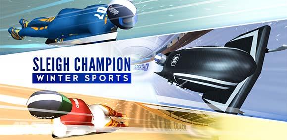 Sleigh Champion Winter sports دانلود بازی قهرمان سورتمه
