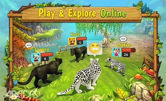 Puma Family Sim Online دانلود بازی خانواده پوما برای اندروید