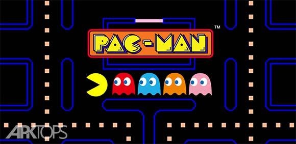 PAC-MAN دانلود بازی پک من