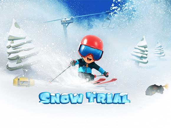 Snow Trial دانلود بازی اسکی برفی برای اندروید