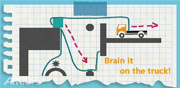 Brain it on the truck دانلود بازی معتاد کننده فکر کامیون باش