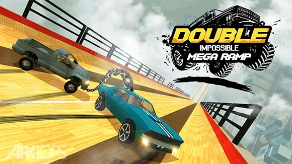 Double Impossible Mega Ramp 3D دانلود بازی سراشیبی غیر ممکن برای اندروید