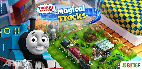 Thomas & Friends Magic Tracks دانلود بازی توماس و دوستان آهنگ جادویی