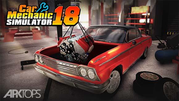 Car Mechanic Simulator 18 دانلود بازی شبیه سازی مکانیک ماشین برای اندروید