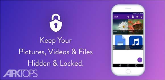 Vault Hide Pictures Videos Gallery & Files دانلود برنامه مخفی سازی اطلاعات شخصی